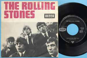 ROLLING STONES - Time is on my side French Jukebox PS 1964