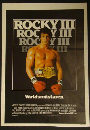 ROCKY III (SYLVESTER STALLONE)