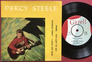 PERCY STEELE & His Rockin´Rollers - Diana +3 Swe EP 1958