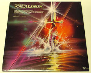 Excalibur - O.S.T. LP Island Records UK 1981
