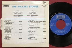 ROLLING STONES - Time is on my side +3 French EP 1972