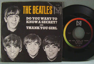 "BEATLES - Do you want to know a secret? 7"" US 1963"