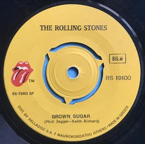 ROLLING STONES - Brown sugar GREKISK 45 1971