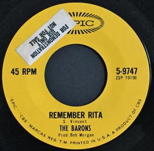 BARONS - Remember Rita / Lucky star US-orig Doo-wop 45