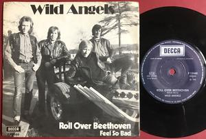 WILD ANGELS - Roll over beethoven Swe PS 1973
