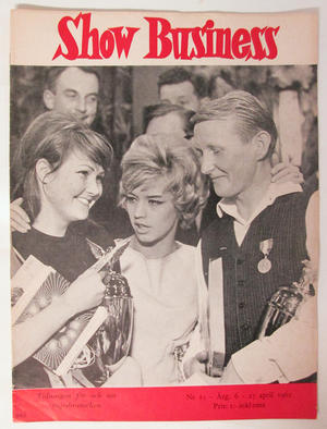 SHOW BUSINESS - 1962 nr 15 Lill-Babs omslag