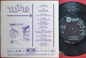 BEACH BOYS - Tears in the morning Swe PS 1970