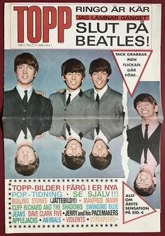 TOPP - No 1 1964 BEATLES cover