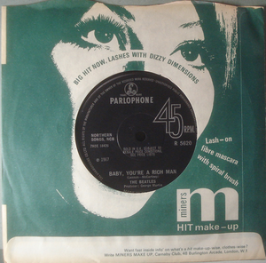 """BEATLES - All you need is love 7"""" UK 1967"""