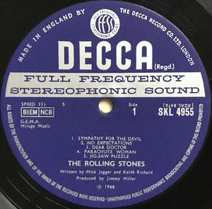 ROLLING STONES - Beggars Banquet UK-orig Stereo LP 1968