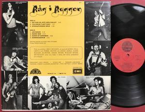 "RÅG I RYGGEN ""same"" Swe-orig LP 1975"