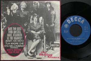 ROLLING STONES - Have you seen your mother.. Italien PS 1966