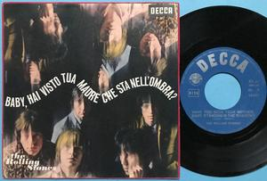 ROLLING STONES - Have you seen your mother.. Italy PS 1966