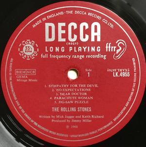 ROLLING STONES - Beggars Banquet UK-orig MONO LP 1968