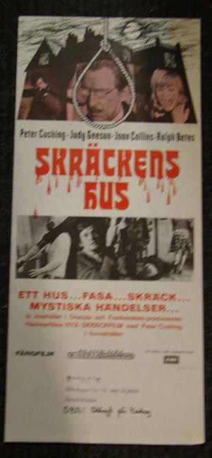 SKRÄCKENS HUS (PETER CUSHING, JOAN COLLINS)