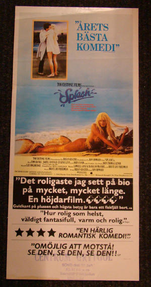 SPLASH (TOM HANKS, DARYL HANNAH)