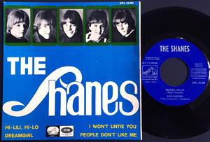 SHANES - Hi-Lili, hi-lo + 3 SPANSK EP 1966