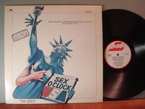 SEX O´CLOCK USA  O.S.T. US-orig 1976 LP