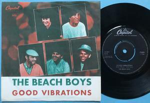 BEACH BOYS - Good vibrations Rare FÄRG Swe PS 1967
