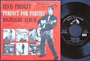 "ELVIS PRESLEY - ""Perfect for parties"" US EP 1956"
