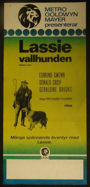 LASSIE VALLHUNDEN (EDMUND GWENN, DONALD CRISP)