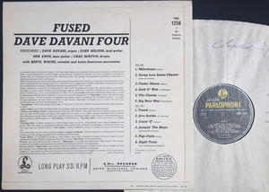DAVE DAVANI FOUR - Fused UK-orig Jazz LP 1965