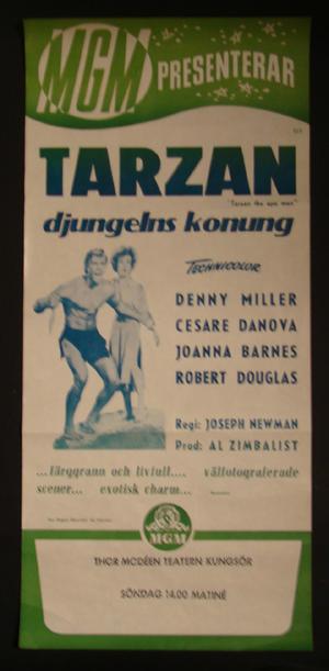 TARZAN - DJUNGELNS KONUNG (Denny Miller)