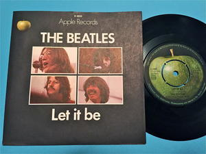 "BEATLES - Let it be 7"" Swe 1970"