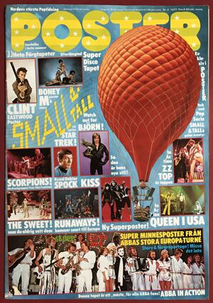 POSTER Mag - No 4 1977 - UNFOLDED!
