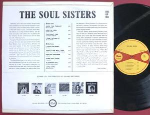 """The SOUL SISTERS - """"same"""" UK-orig LP 1964"""