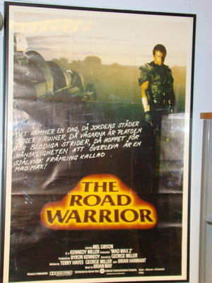 MEL GIBSON - Road warrior orig. Filmaffisch 1979