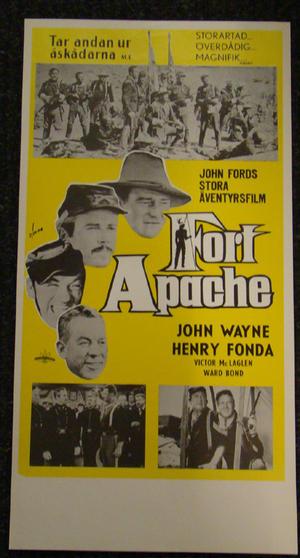 FORT APACHE  (JOHN WAYNE, HENRY FONDA)