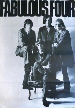 FABULOUS FOUR (1966-67) - Promo affisch