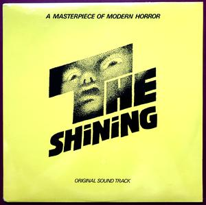 The SHINING - Original Soundtrack US-orig LP 1980 OÖPPNAD!