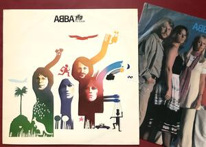 ABBA - The album  Swe-orig 1977 FELPRESS! LP
