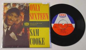SAM COOKE - Only sixteen + 3 Swe EP 1960´s
