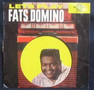 DOMINO, FATS - Let's play... 1959 Denm LP