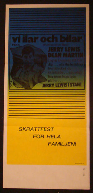 VI ILAR OCH BILAR (JERRY LEWIS, DEAN MARTIN)