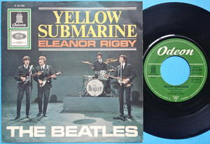 "BEATLES - Yellow Submarine 7"" Ger PS 1966"