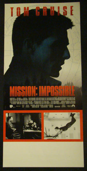 MISSION : IMPOSSIBLE (TOM CRUISE)