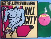 IGGY POP - Kill city 1977 SIGNERAD LP