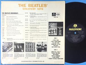 BEATLES - Greatest hits Svensk orig LP 1965