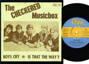 CHECKERED MUSICBOX - Boys cry RARE Swe´67