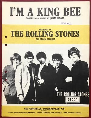 ROLLING STONES - I´m a King Bee Nothäfte 1964