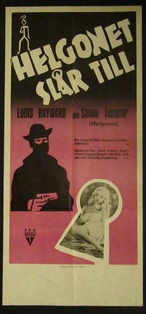HELGONET SLÅR TILL(Louis Hayward)