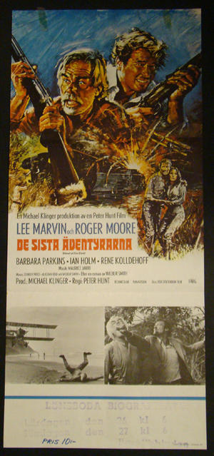SHOUT AT THE DEVIL (LEE MARVIN, ROGER MOORE)
