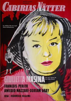 CABIRIAS NÄTTER (1957)