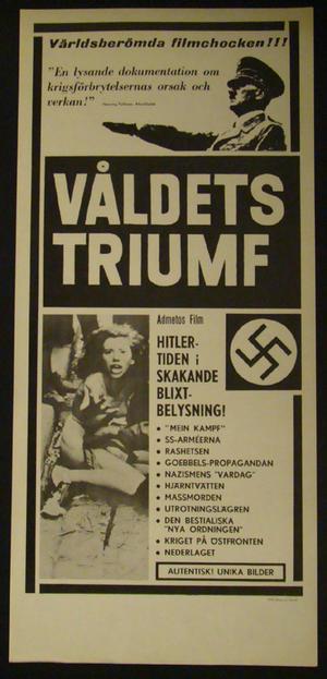 HITLER - VÅLDETS TRIUMF