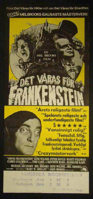 DET VÅRAS FÖR FRANKENSTEIN (GENE WILDER, MARTY FELDMAN)