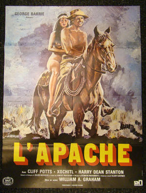 L`APACHE (CLIFF POTTS, XOCHITL, HARRY DEAN STANTON)